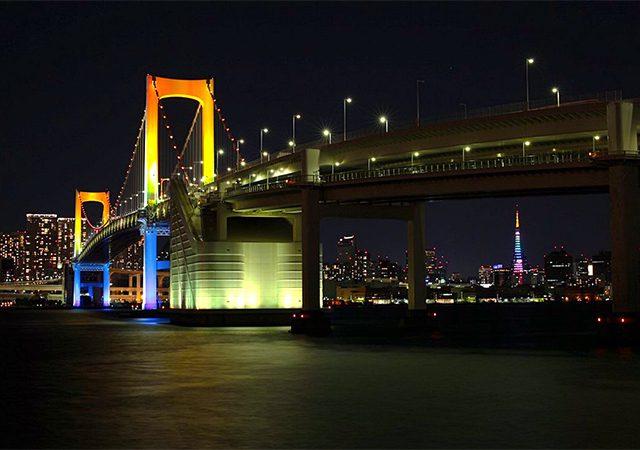 レインボーブリッジの画像