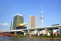隅田川を上流してくと、迫力が増してきますの画像