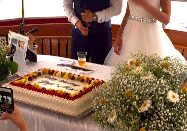 結婚式二次会クルーズの画像