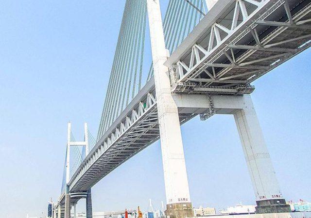 横浜ベイブリッジの画像