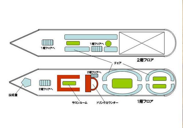 マルコポーロの船内図